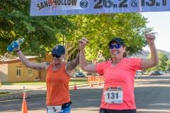 2021 Sand Hollow Marathon & Half Marathon Finish Line